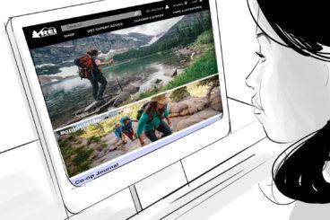 REI Website Re-Design